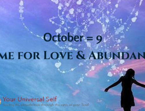 October = 9 Time for Love & Abundance