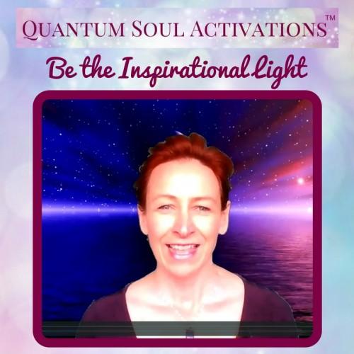 Quantum Soul Activation Inspirational light